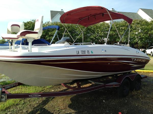 Used ski and fish tahoe boats for sale for Fish and ski boat