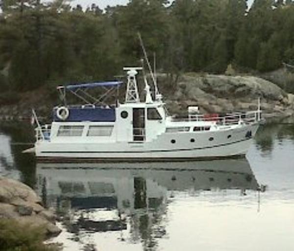 36' x 10' Custom Built Steel Trawler /Twin Ford Lehman Diesels