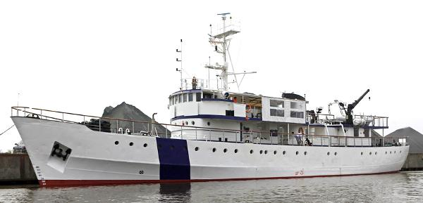 Custom Expedition Support Vessel