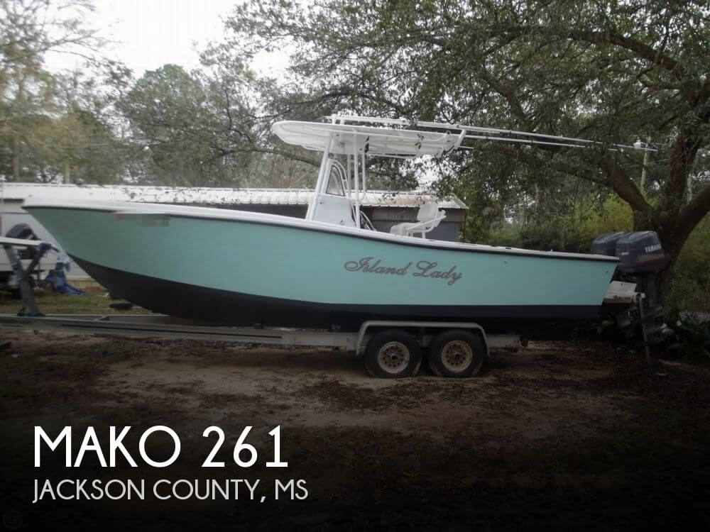 Mako 261 Center Console 1987 Mako 261 for sale in Vancleave, MS