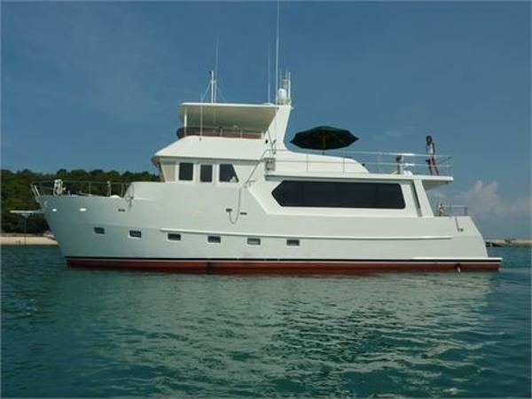 Bruce Roberts TY620 65' Trawler Yacht