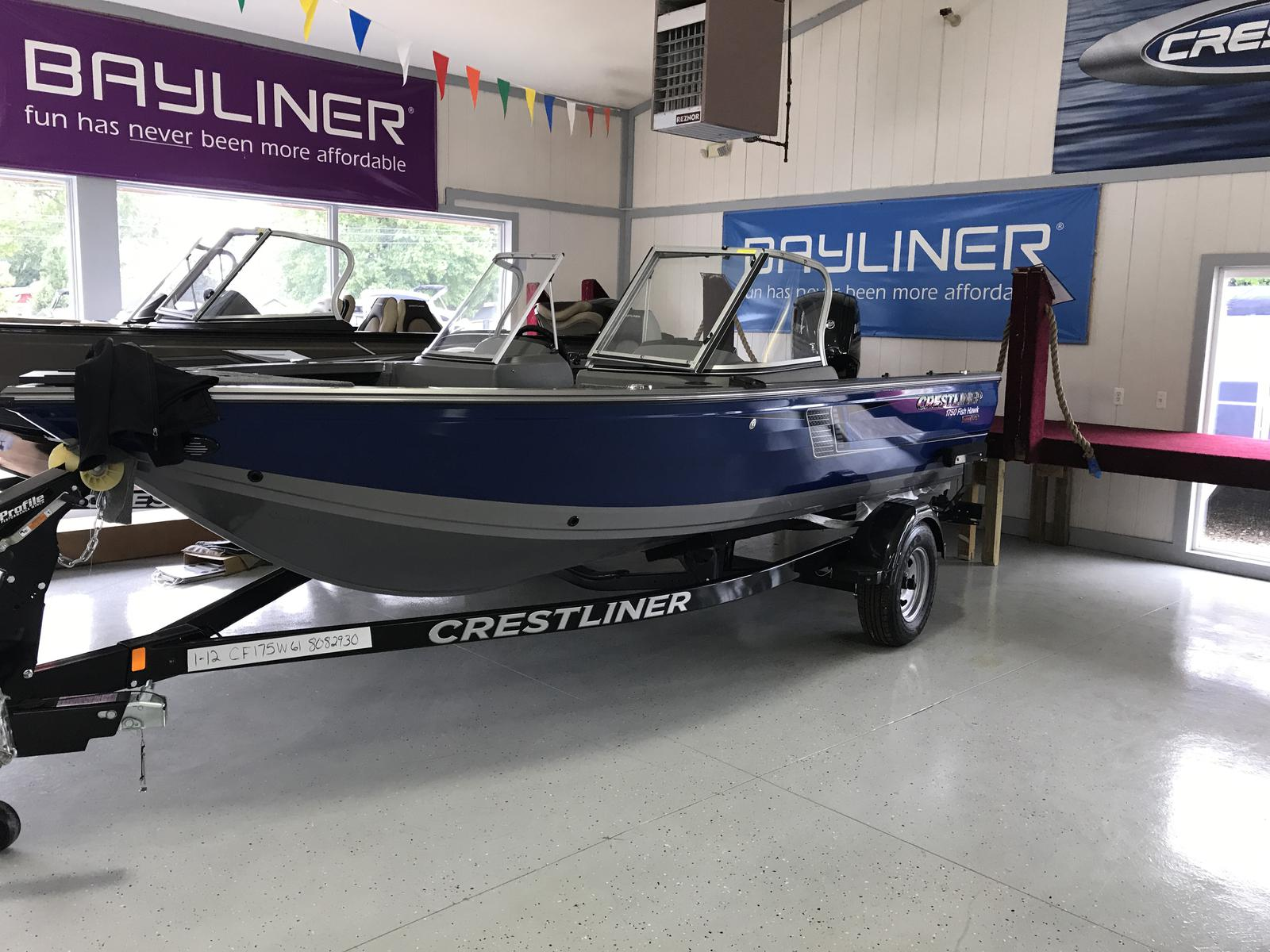 Crestliner 1750 Fish Hawk Walk-through