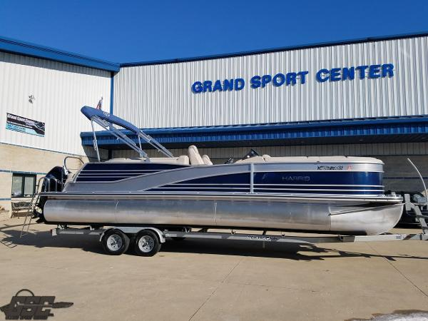 Harris Grand Mariner 270 Tritoon