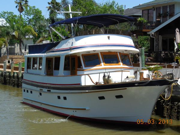 Marine Trader 50' WIDE BODY