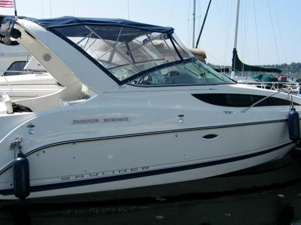 Bayliner 285 Ciera Sunbridge Starboard Profile