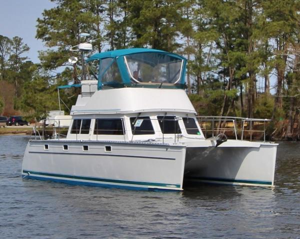 """PDQ """"34"""" Power Catamaran #47 MOXIE"""