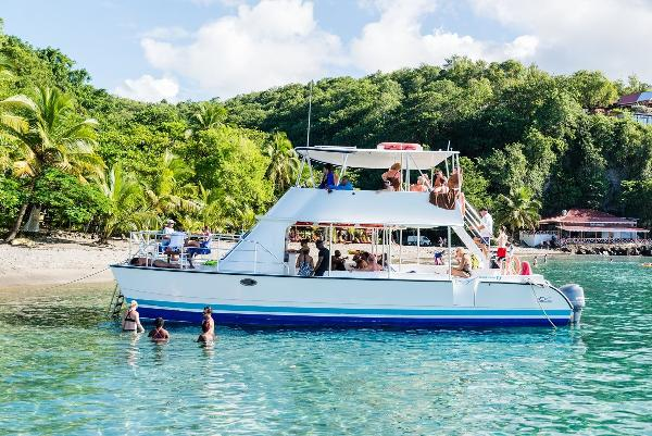 Custom 42' Power Catamaran 42' Day Charter Power Catamaran for sale in Saint Lucia