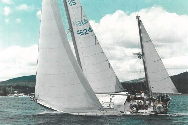 Hinckley Bermuda 40 MK III Yawl Aquarelle