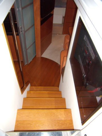 Companionway to Lower Deck - Salon