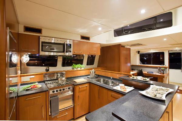 Leopard 58 Galley