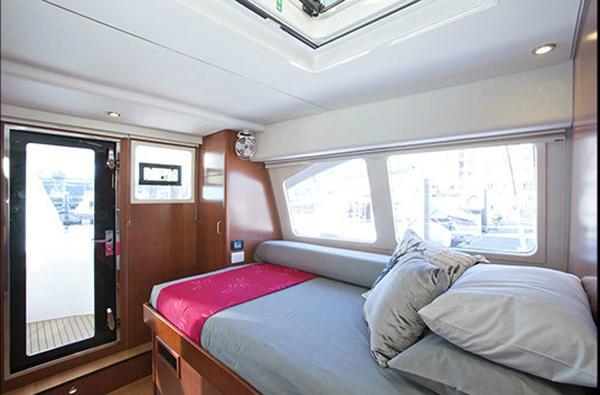 Leopard 58 Twin Cabin