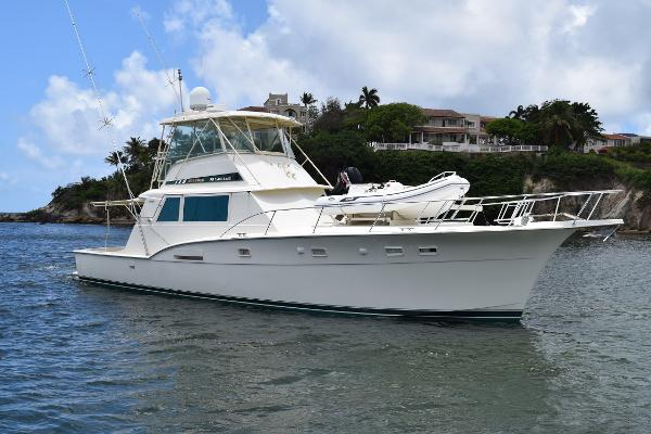 Hatteras 53 Convertible Starboard View
