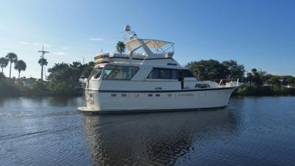 Hatteras 53 Motoryacht Profile