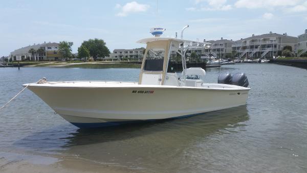 Silverhawk 24' Twin Outboard