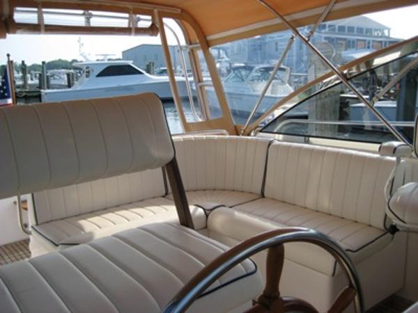 Helm Deck, starboard