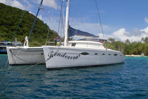 Fountaine Pajot Eleuthera 60 Fountaine Pajot Eleuthera 60 'Rendezvous' . 2006. 'Orchestra' . 2 owners. Exclusively presented by Nautilus Yacht Management.