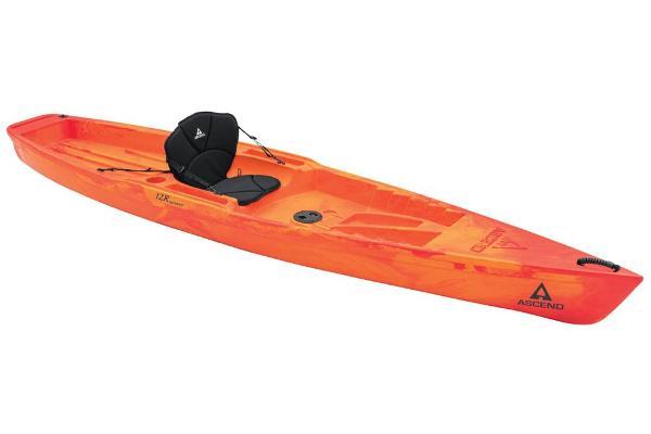 Ascend 12R Sport Sit-On - Orange/Red