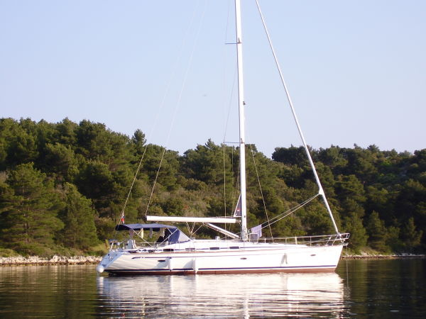 Bavaria Cruiser 50 At Anchor