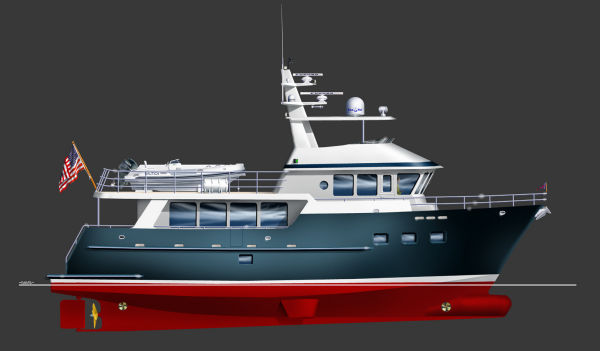 Custom EXPEDITION TRAWLER 7200 SERIES