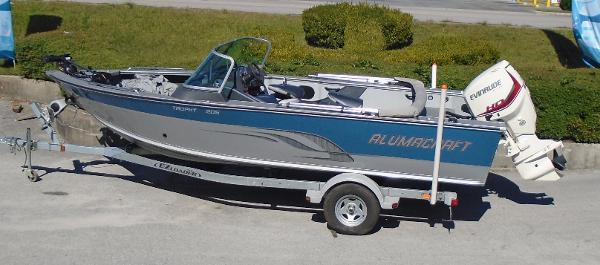 Alumacraft Trophy 205 Sport