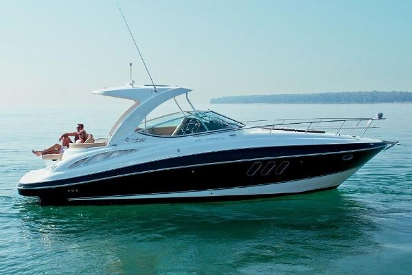 """Cruisers Yachts 350 Express Main Image is of """"Sistership"""" only"""