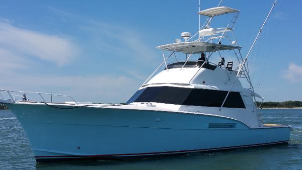 Hatteras 53 Convertible Profile