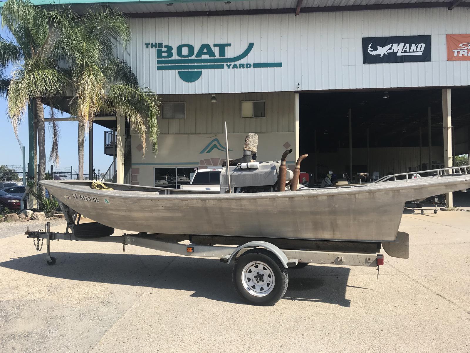 Custom Weld Mud Boat
