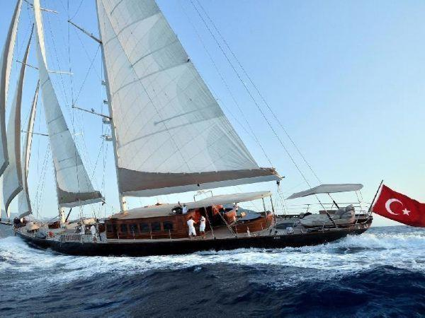 56 m - Custom Steel  Schooner Custom Steel Schooner