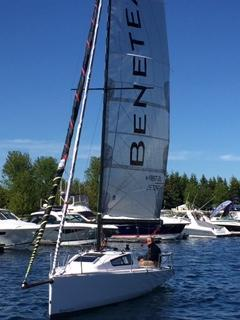 Beneteau First 24 Sailing 1