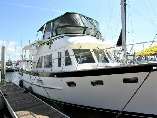 DeFever Aft Cabin Trawler Stabilized 44