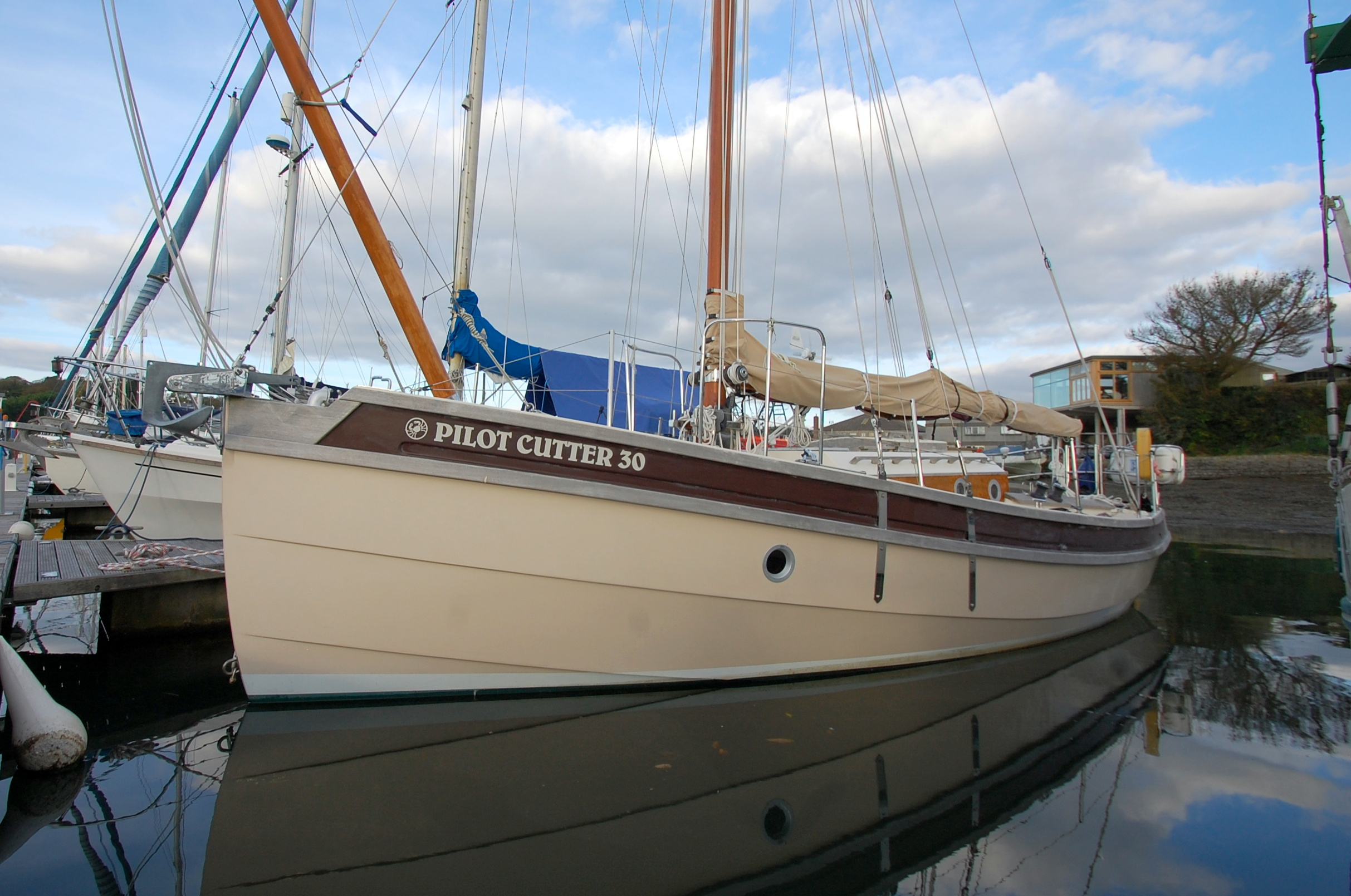 Cornish Crabber Pilot Cutter 30 Cornish Crabber Pilot Cutter 30
