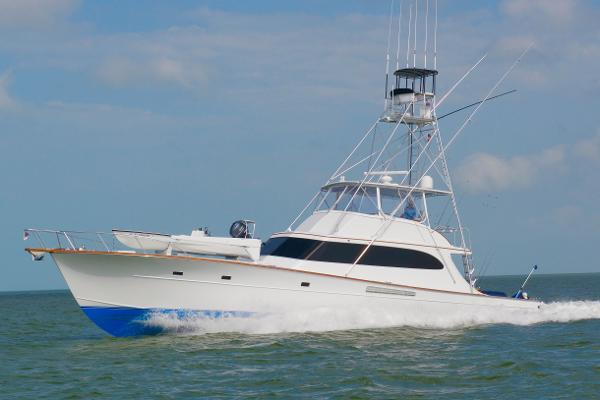 Merritt Custom 63' Sportfish SARANITA