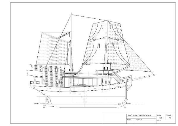 Ladjedelnica Piran Wooden Sailing Passenger Ship