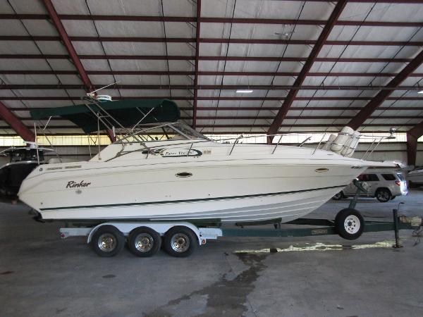 Rinker 280 Fiesta Vee Exterior Starboard Profile