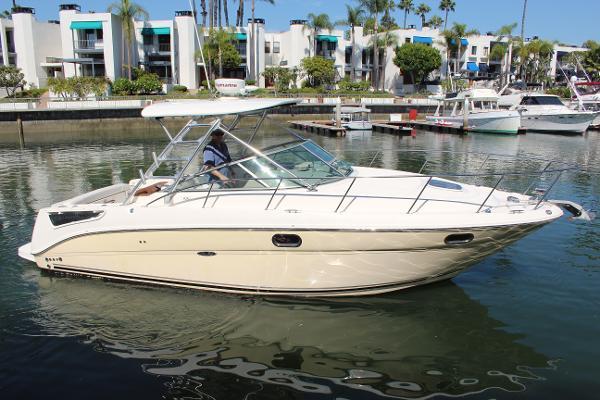 Sea Ray 290 Amberjack Starboard Profile