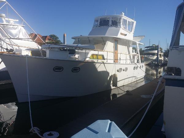 Hatteras 50 Yacht Fisherman