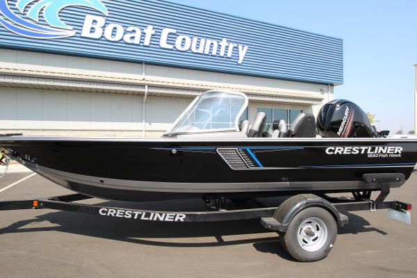 Crestliner 1850 Fish Hawk WT - Full Windshield