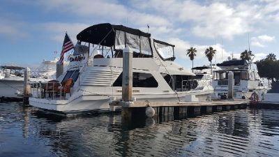 Bluewater Islander 50 Starboard Profile