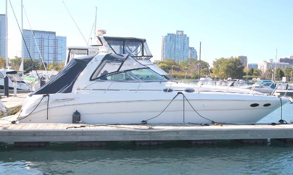 Sea Ray 380 Sundancer Starboard Profile