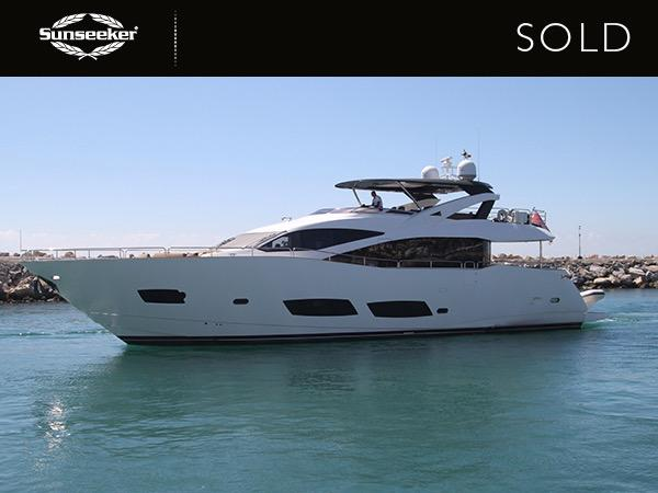 Sunseeker 28 Metre Yacht THIS TIME NEXT YEAR