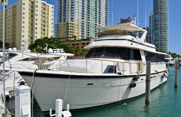 Hatteras 63 Motoryacht