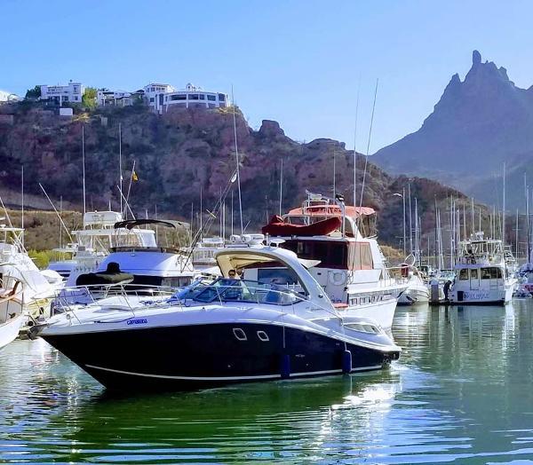 Sea Ray Sundancer Bow Port Profile