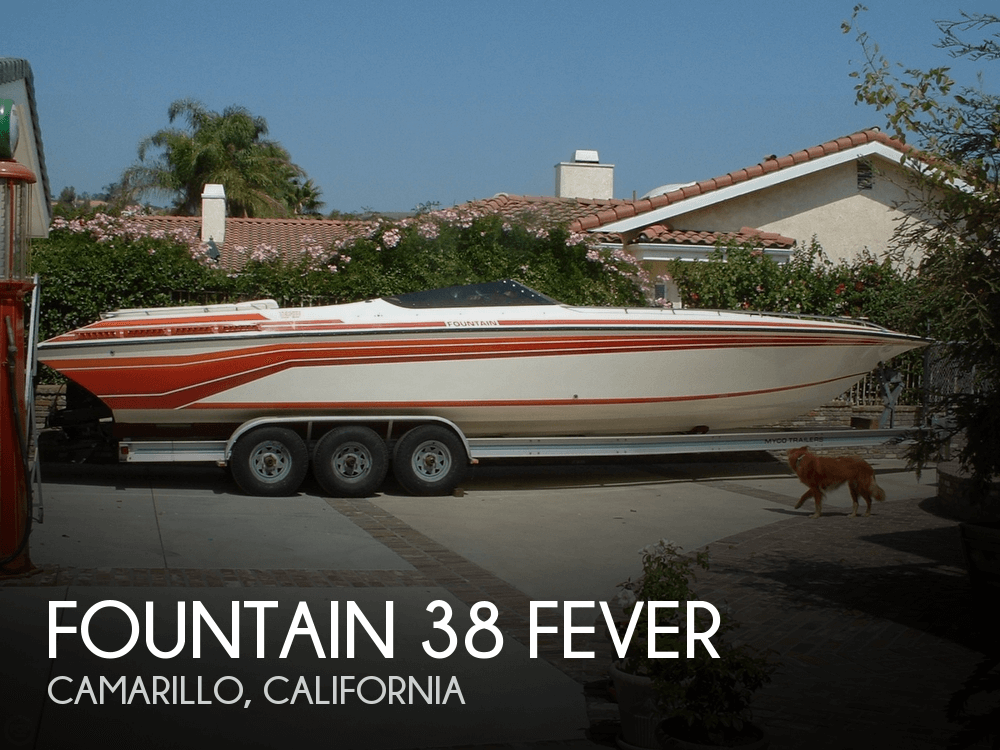 Fountain 38 Fever 1989 Fountain 38 Fever for sale in Camarillo, CA