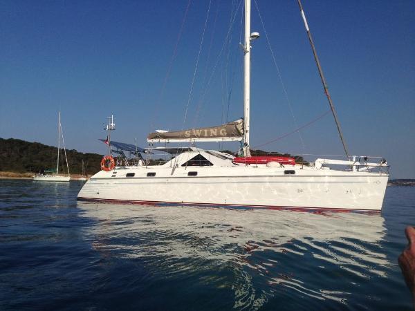 Jeantot Privilege 48 Vue tribord +++