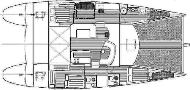 Fountaine Pajot Eleuthera 60 (Technical Drawings)