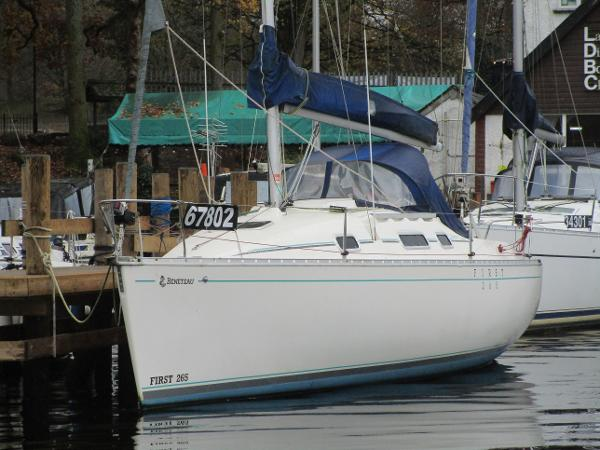 Beneteau First 265 Beneteau First 265 - L for Leather