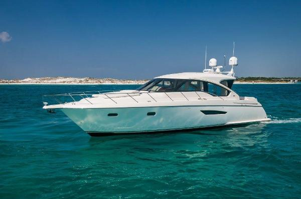 Tiara 58 Sovran Port Profile