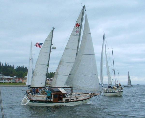 Nauticat 38 pilothouse sailboat Havis Amanda