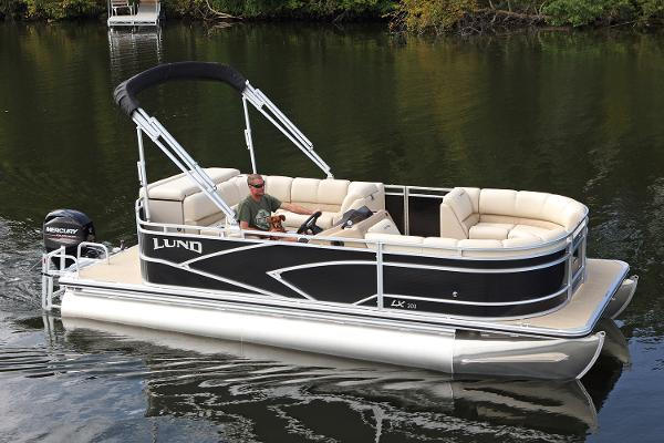 Lund LX200 Pontoon WT DS