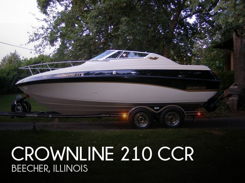 Crownline 210 CCR 1996 Crownline 210 CCR for sale in Beecher, IL